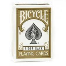 Карты Bicycle золотые - US Playing Cards