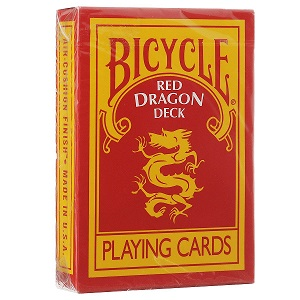 Карты Bicycle Red Dragon