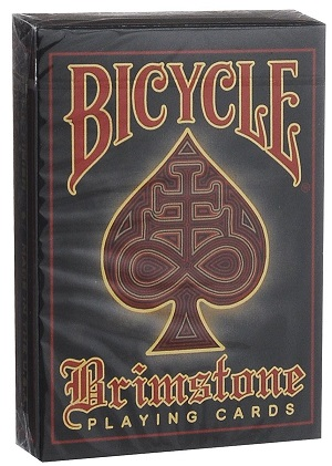 Карты Bicycle Brimstone (красные) - Gambler's Warehouse