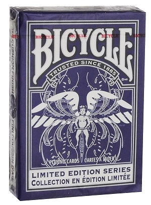 Карты Bicycle Limited Edition Series #2 (синяя) - USPCC