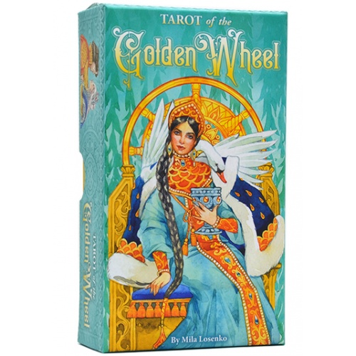 Карты Таро Golden Wheel tarot cards/Таро Золотое Колесо