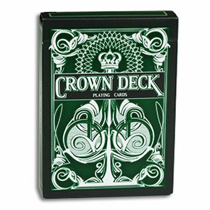 Игральные карты The Crown Deck (зеленые) - The Blue Crown