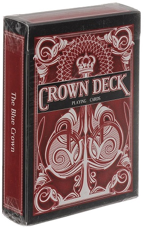 Игральные карты The Crown Deck (красные) - The Blue Crown