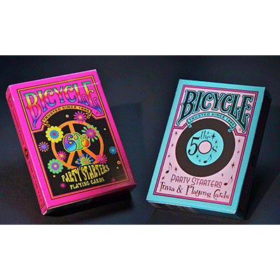 Карты Bicycle Decades Cards 50-е  - US Playing Cards