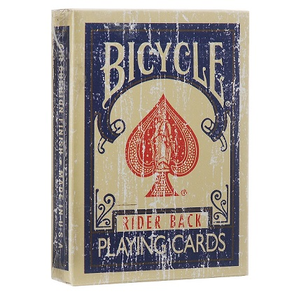 Карты Bicycle Faded Deck синие