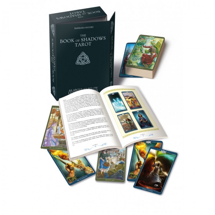 Карты Таро Tarot Cards The Book Of Shadows Tarot Complete Edition Set/Таро Книга Теней полный комплект - Lo Scarabeo